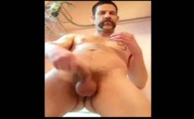 Mexican guy jerking off