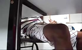 18yo jerking off in the classroom fully dressed under the table