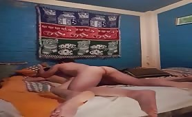 Sexy twink fucked hard from behind