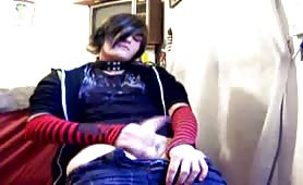 Two emo boys masturbating