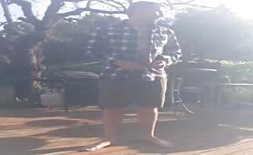 Stripping outdoor