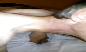 Rough anal sex with Irish college boy