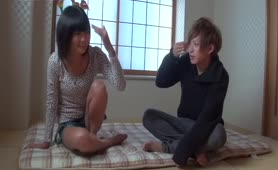 Japanese manato screws young lady